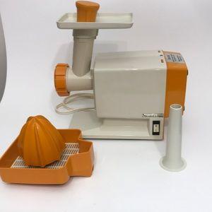 Vintage Moulinex meat grinder & citrus press